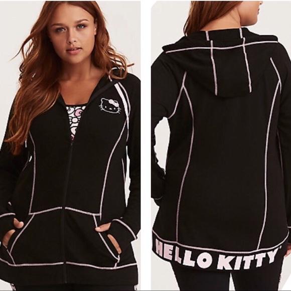0d521835596fd 🆕Torrid Hello Kitty Active Zip Hoodie